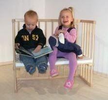 Приставная кроватка для новорожденных Катруся Леля